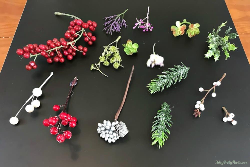 Stems for artificial cork ornament