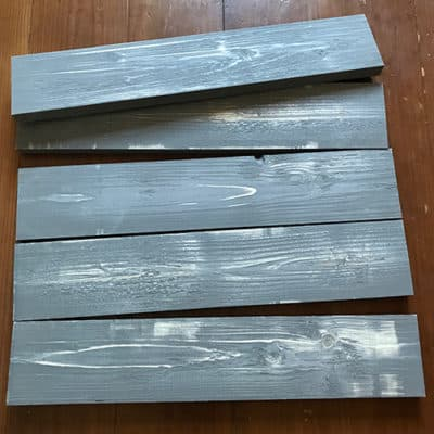 Weathered Boards for diy wood painting canvas