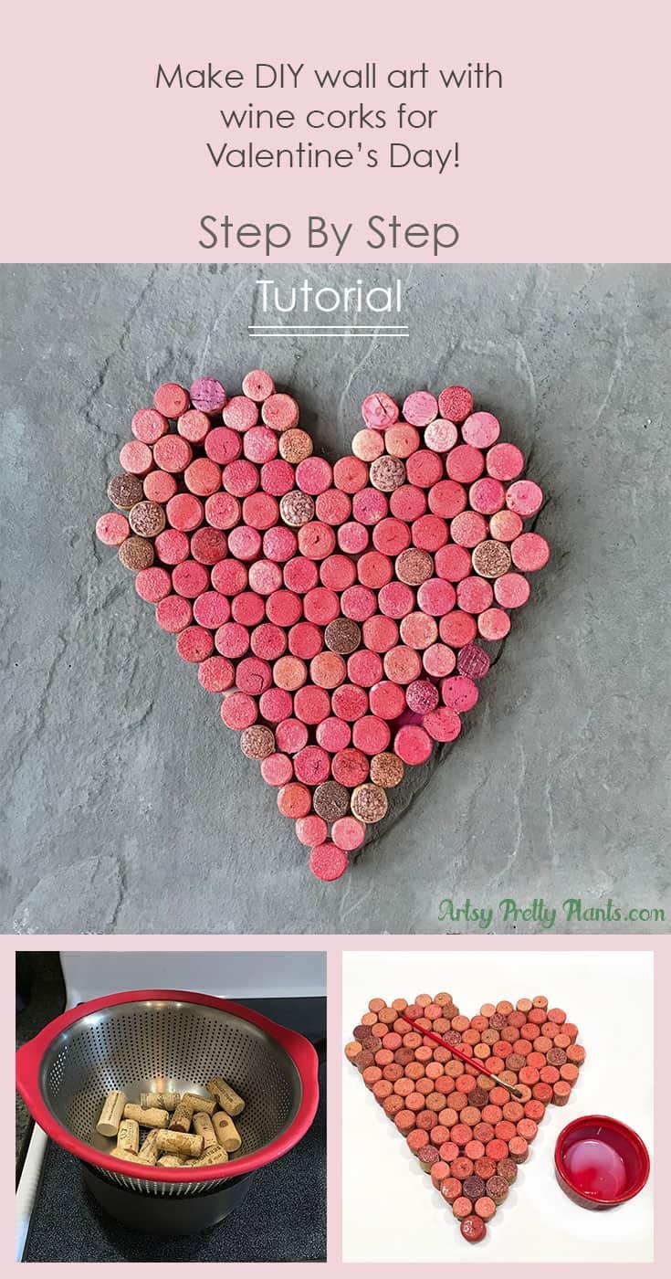 Tutorial for wine cork wall art
