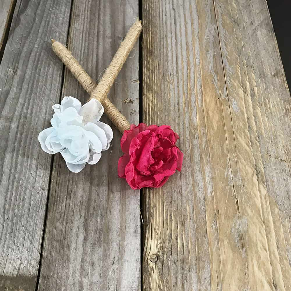twine guestbook pens
