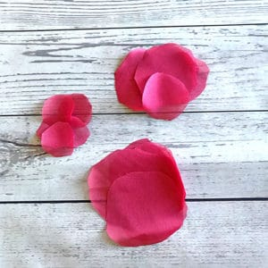 rounded organza