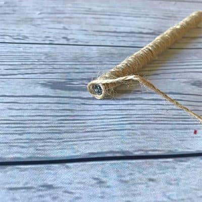 twine pen final wrap