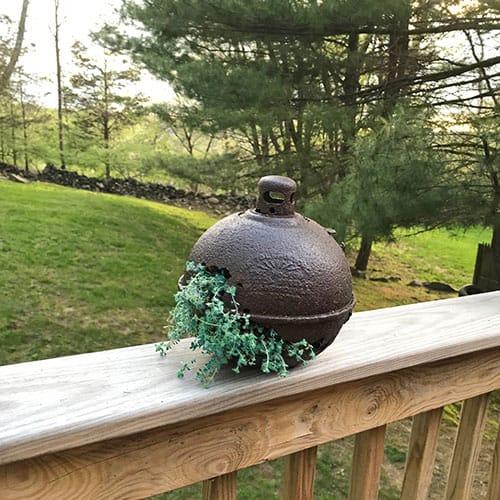 DIY Repurposed Smudge Pot Planter