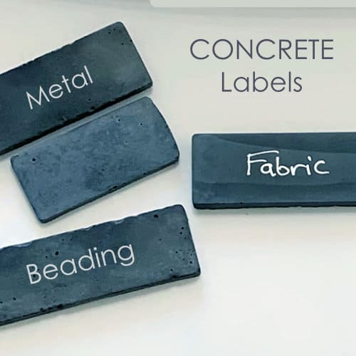 concrete labels