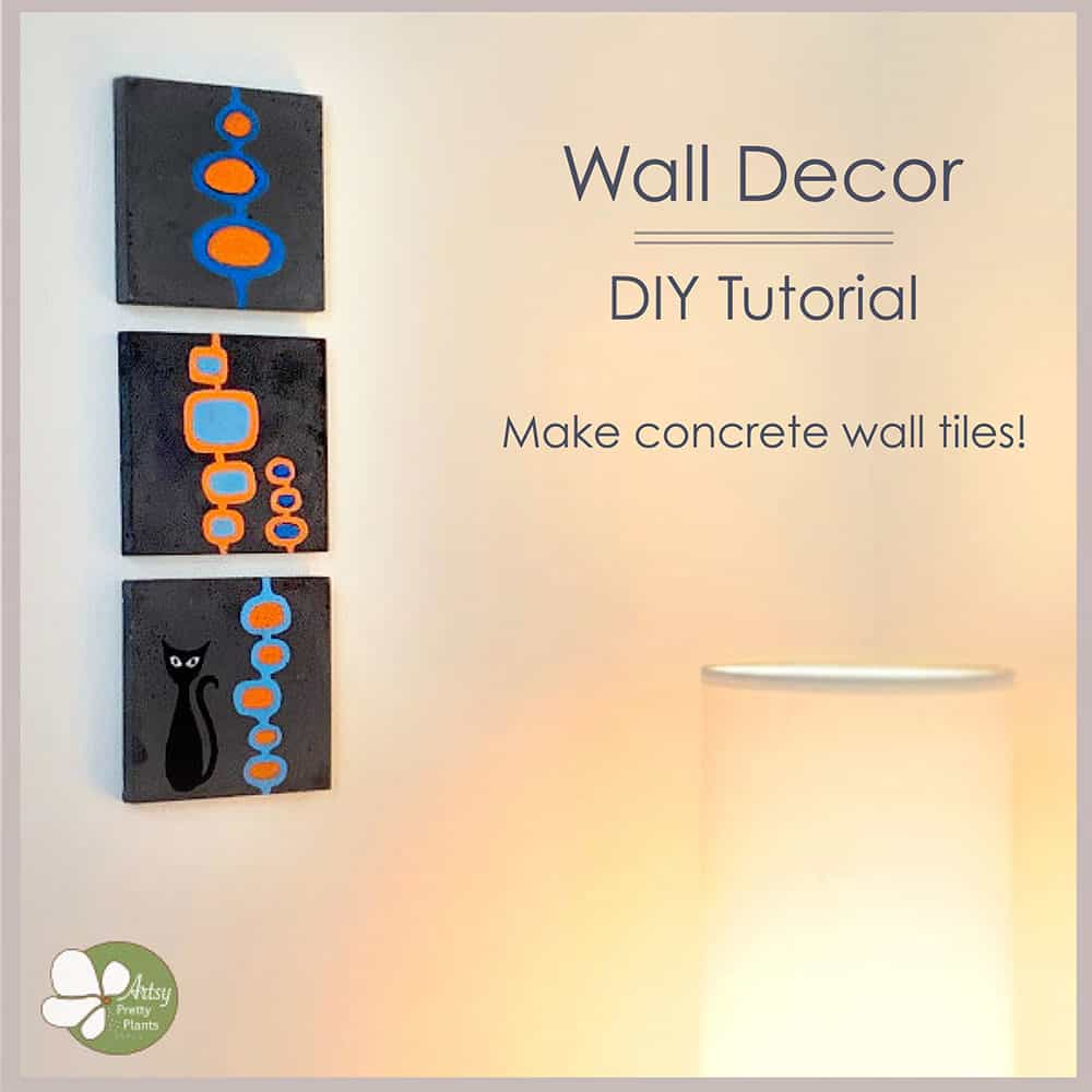 concrete wall decor
