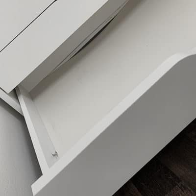 remove screw sagging ikea drawer