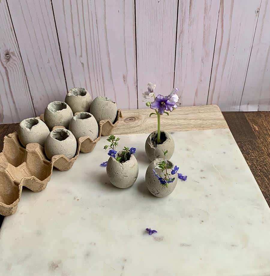 Cement-Easter-Egg-Planter