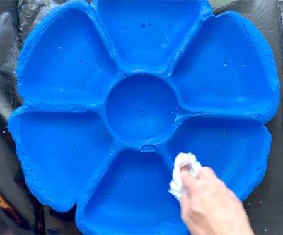 sealing cement bird bath