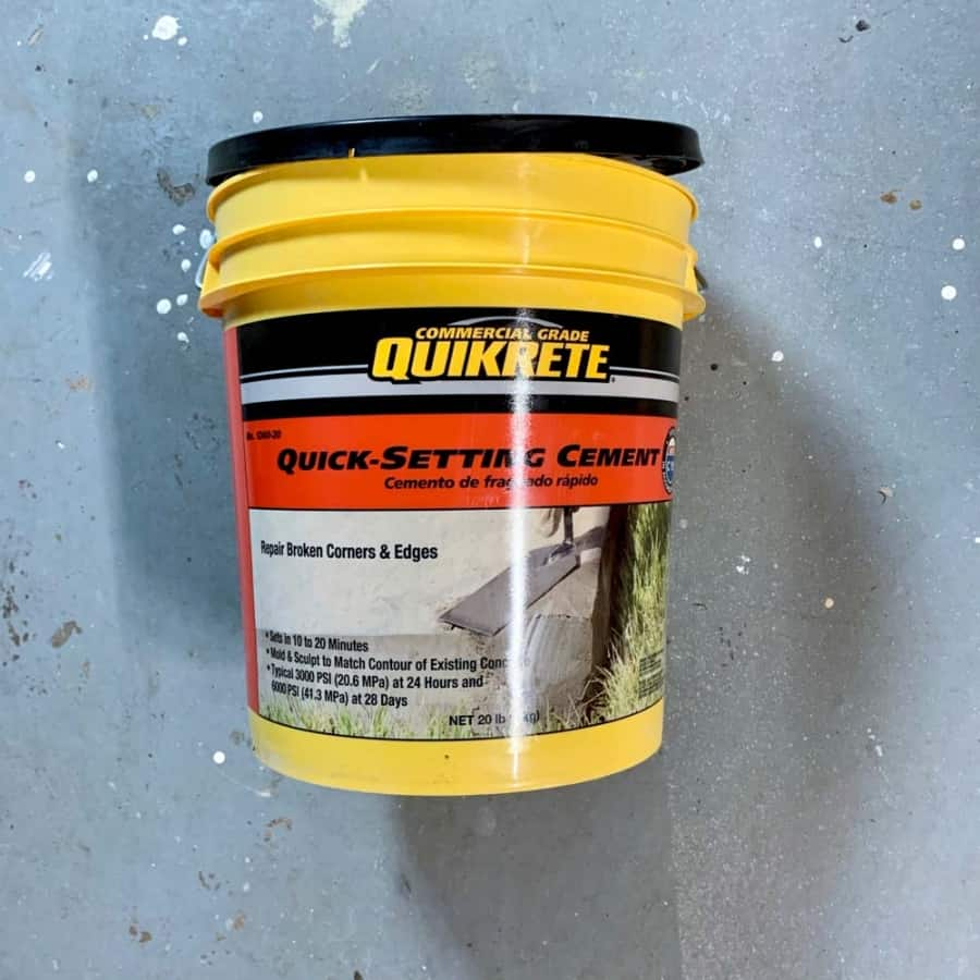Quick setting cement mix to use for concrete crafts