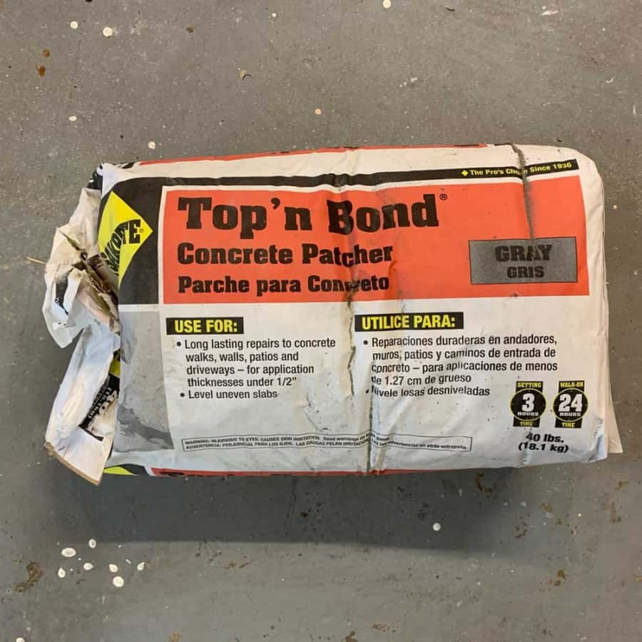 Top n' Bond mix to use for diy concrete projects