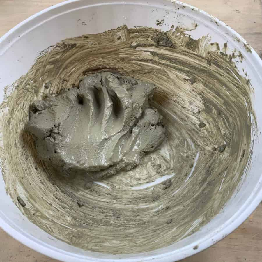 mix for diy cement planter