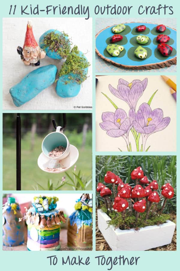 11 Easy diy garden crafts tutorials