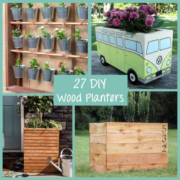 27 Of The Most Amazing DIY Wood Planter Tutorials