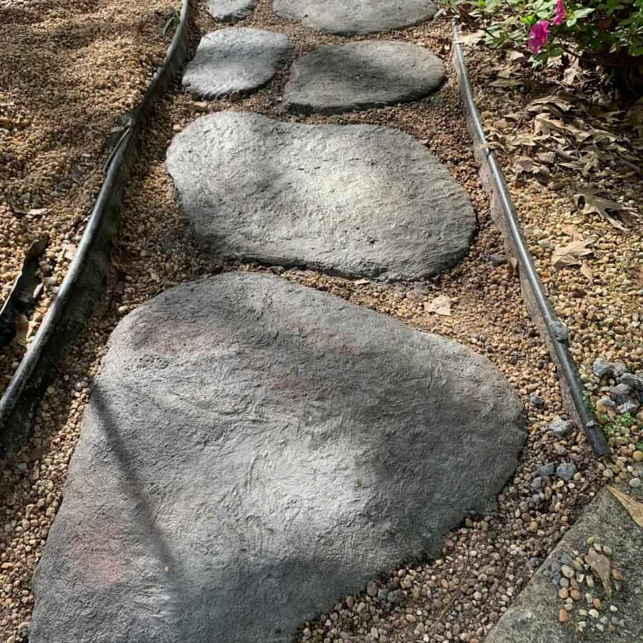 concrete stones curing