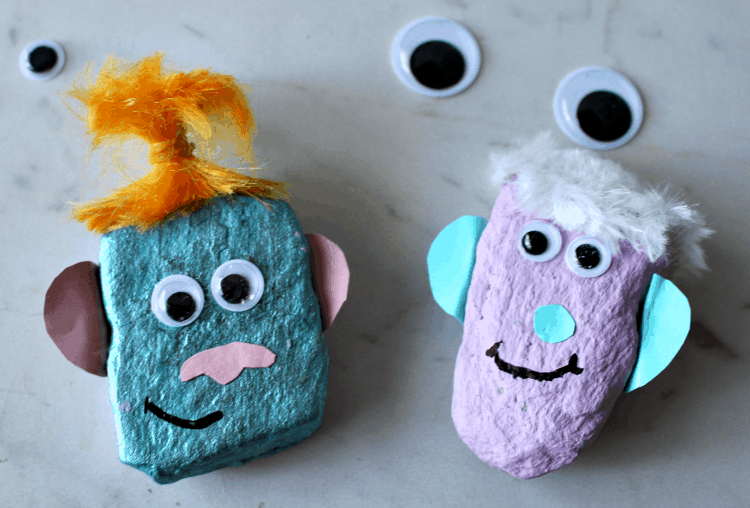 kid friendly rock crafts