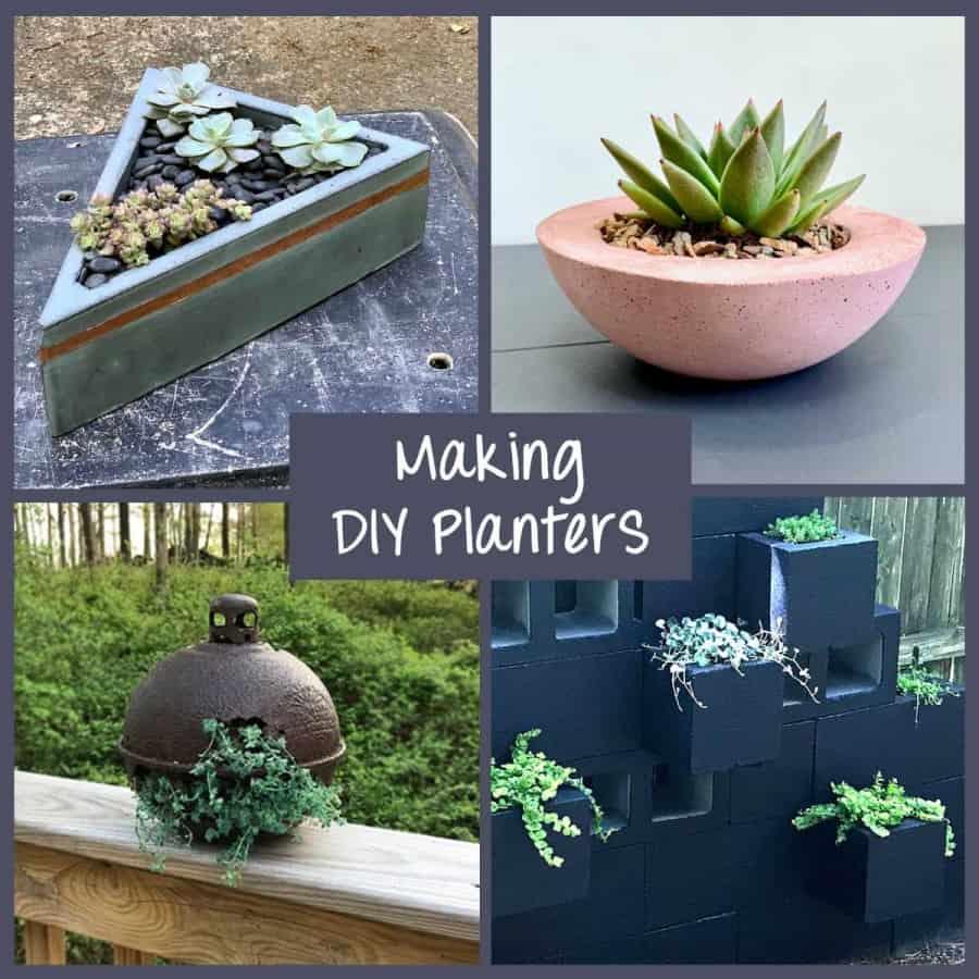 how to make diy planters