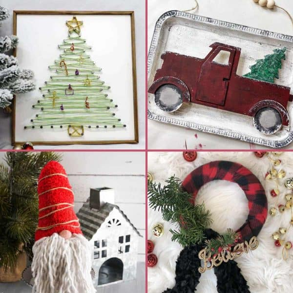 Dollar Tree Christmas Crafts Tutorials