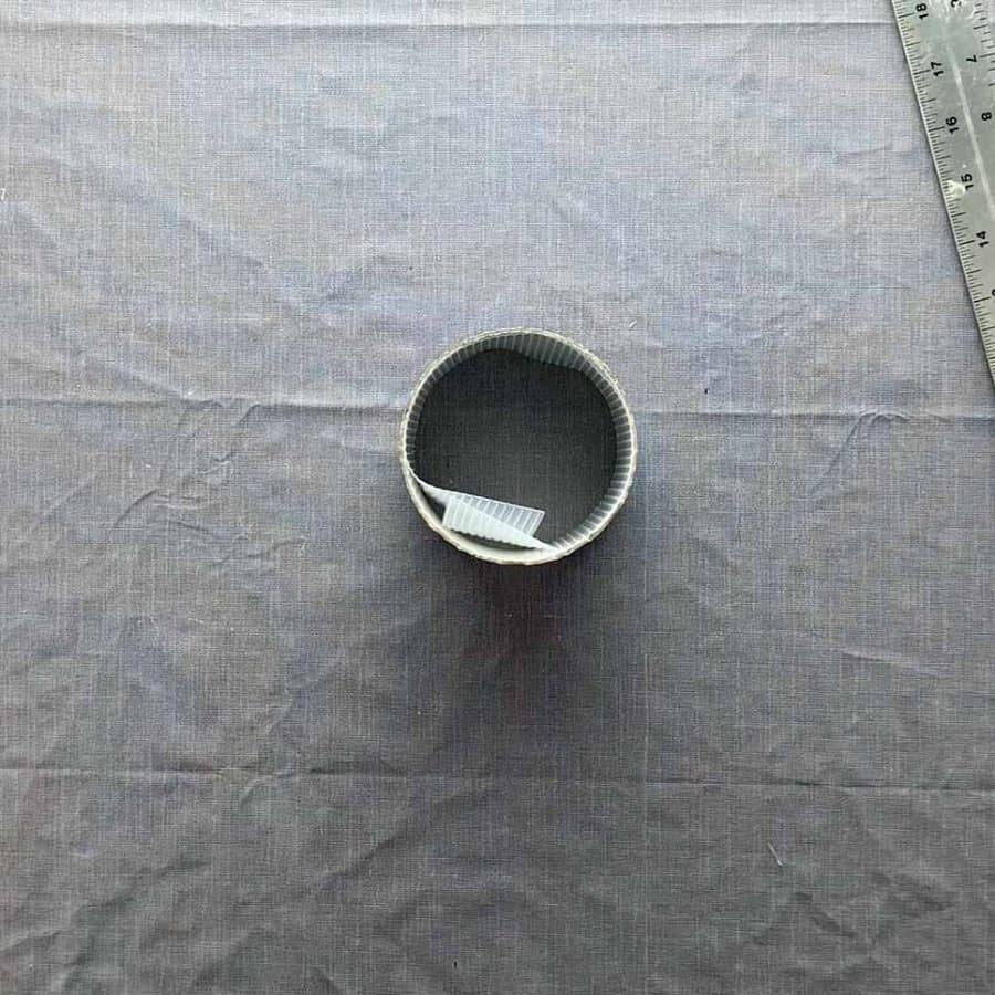 fitting concrete mold with ribbed liner