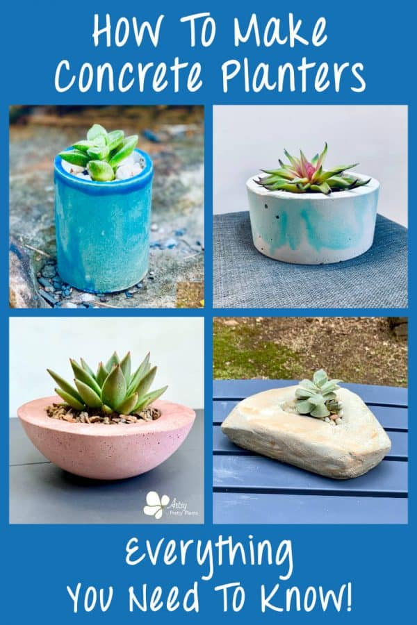 How To Make Concrete Planters Ultimate Guide