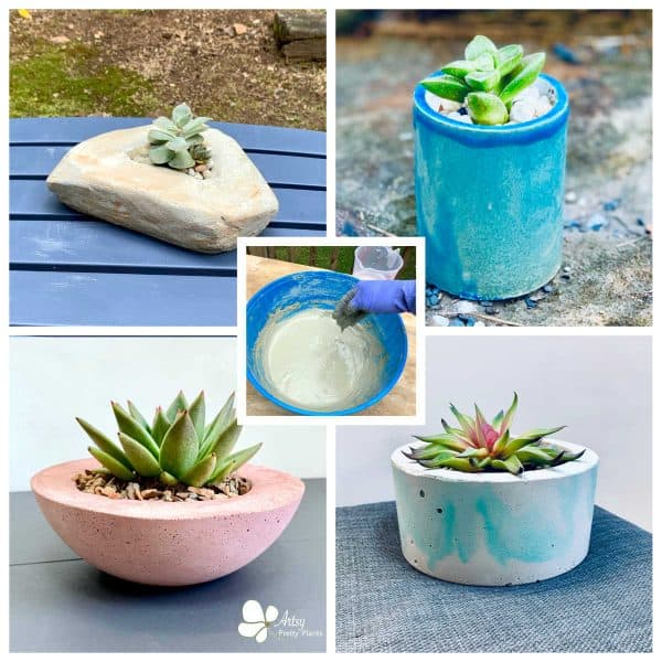 How To Make Concrete Planters – What You Need To Know