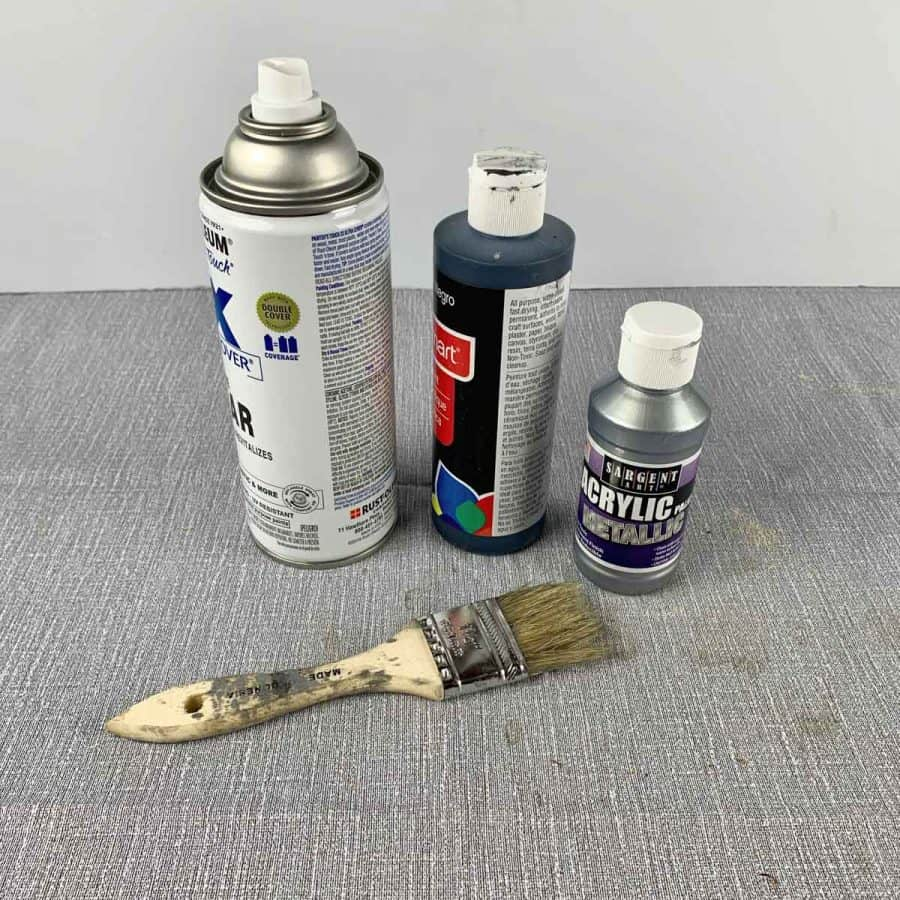 materials for painting concrete gnome girl