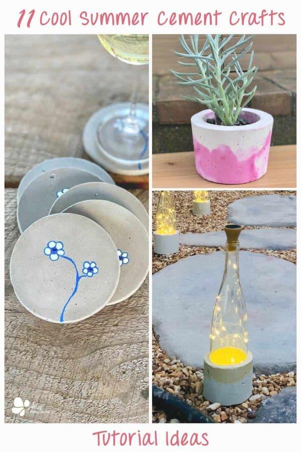 Summer Cement Crafts