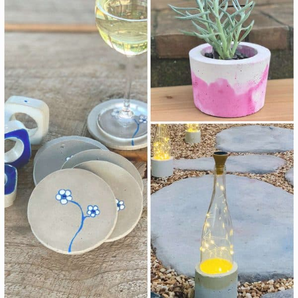 11 Cool Summer Cement Crafts You Can Make
