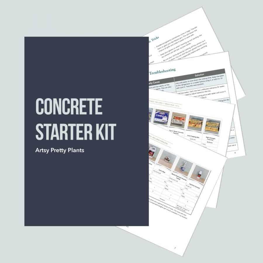 Concrete Starter Kit