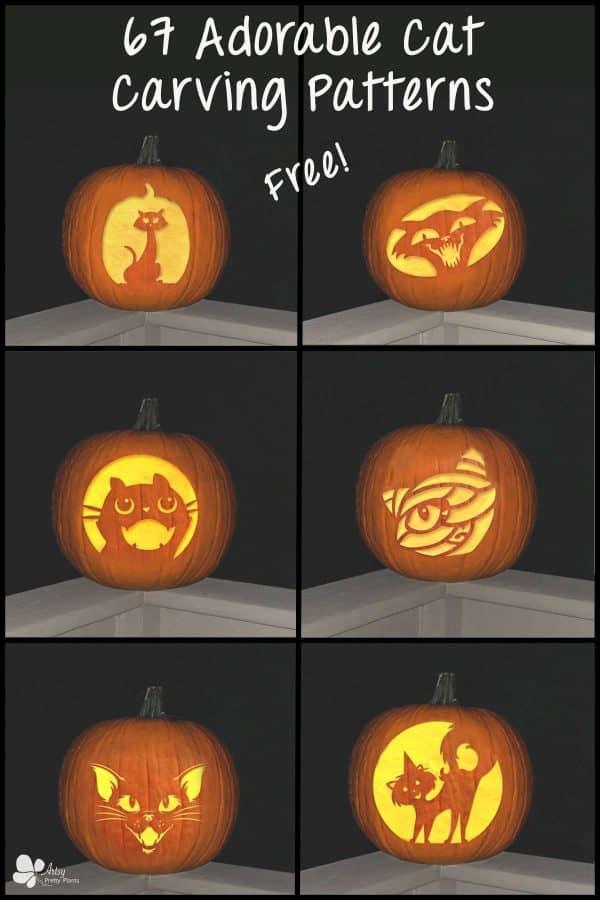 Cat Pumpkin Carving Patterns