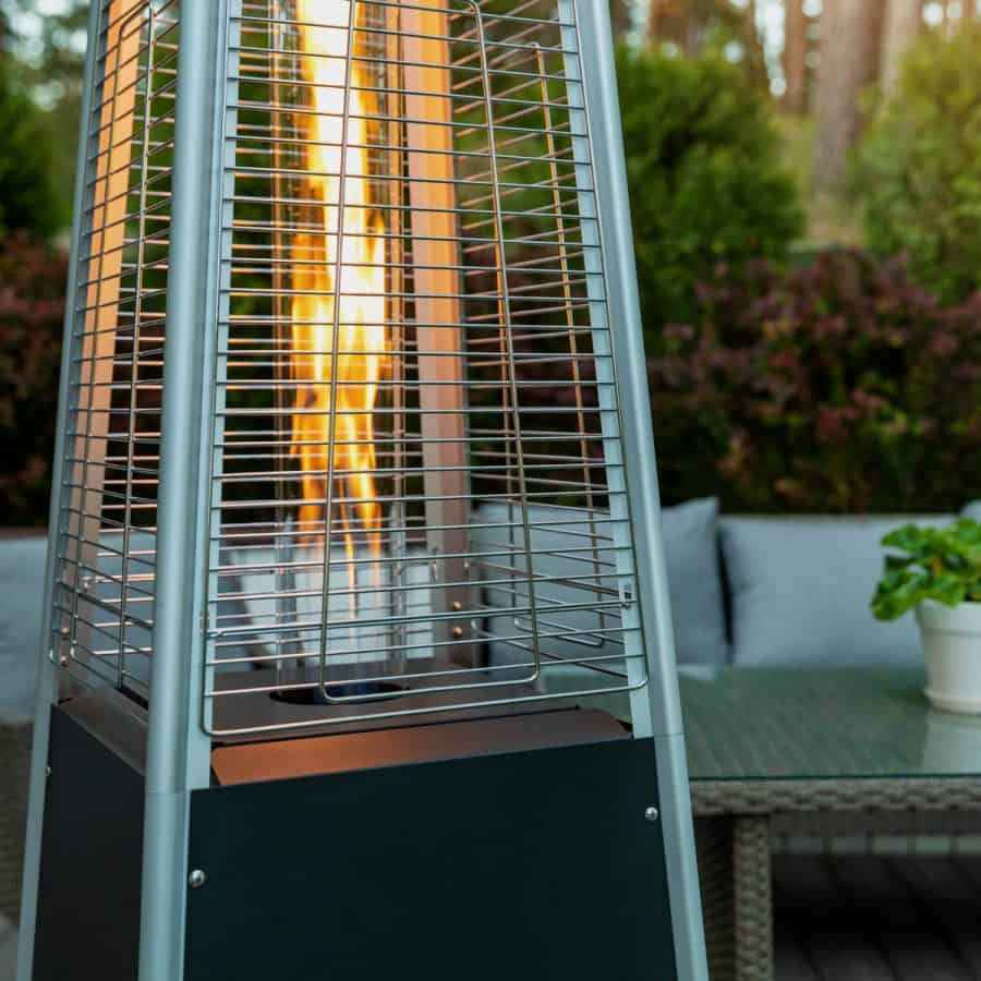 Best Natural Gas Patio Heater on a deck
